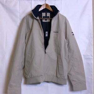 Tommy Hilfiger men's windbreaker yacht jacket